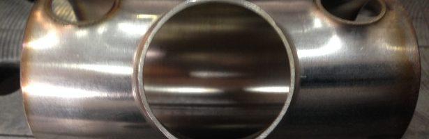 Deformazione tubi in acciaio inox